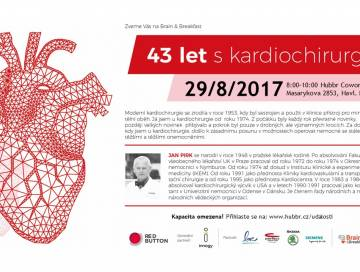 Brain & Breakfast - Jan Pirk: 43 let kardiochirurgie